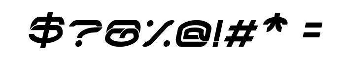 RAYNALIZ Italic Font OTHER CHARS