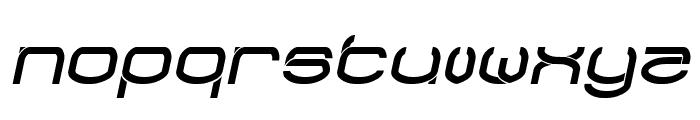 RAYNALIZ Italic Font LOWERCASE