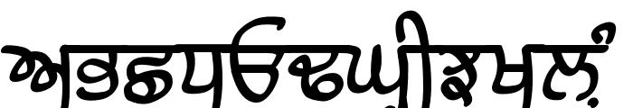 Raaj Bold Font UPPERCASE