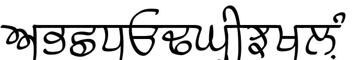 Raaj Medium Font UPPERCASE