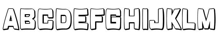 Rabanera Font UPPERCASE