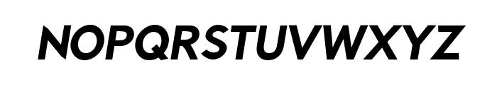 Rabbid Highway Sign II Hop Oblique Font UPPERCASE