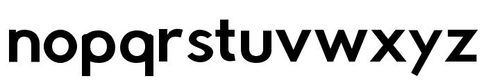 Rabbid Highway Sign IV Oblique Font LOWERCASE