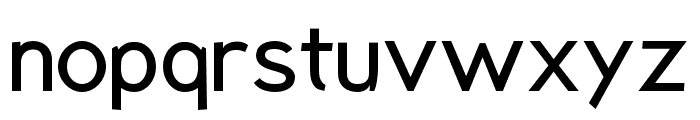 Rabbid Highway Sign VII Font LOWERCASE