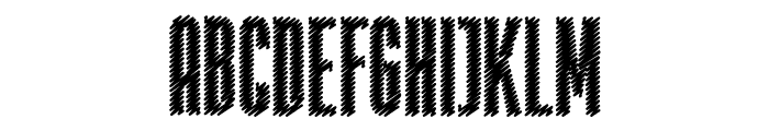 Rabiosa Font UPPERCASE