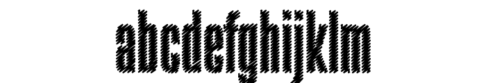 Rabiosa Font LOWERCASE