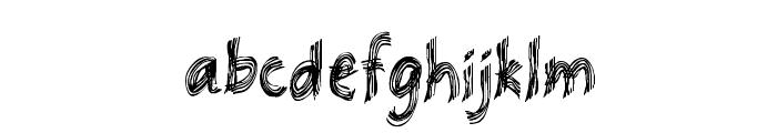 Racana Font LOWERCASE