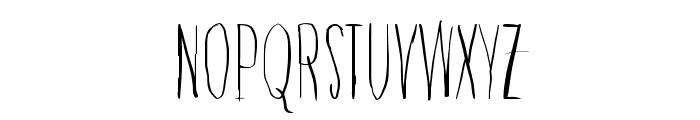 Raccoon Font UPPERCASE