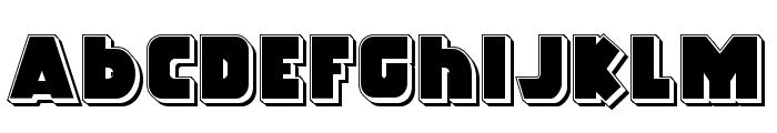Racket Squad Punch Font LOWERCASE