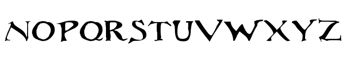 Rackham Regular Font LOWERCASE