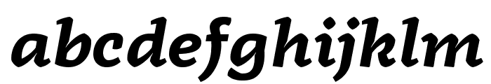 Radcliffe Display Bold Italic Font LOWERCASE