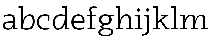 Radcliffe Display Book Font LOWERCASE