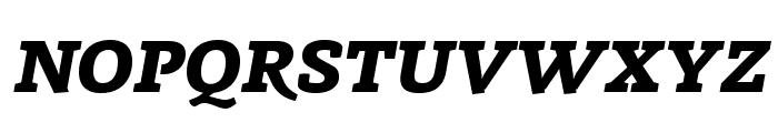 Radcliffe Display ExtraBold Italic Font UPPERCASE