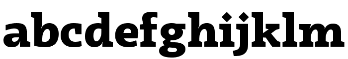 Radcliffe Display ExtraBold Font LOWERCASE