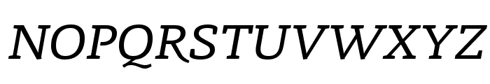 Radcliffe Display Italic Font UPPERCASE