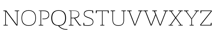 Radcliffe Display Light Font UPPERCASE