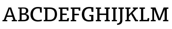 Radcliffe Text Medium Font UPPERCASE