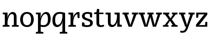 Radcliffe Text Medium Font LOWERCASE