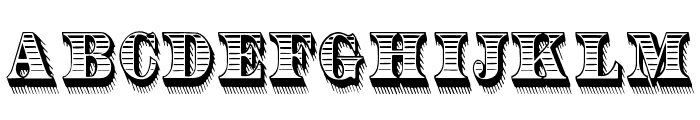 RadiantAntique Font UPPERCASE