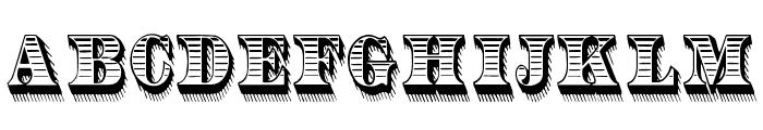 RadiantAntique Font LOWERCASE