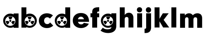 Radiation Participants Font LOWERCASE