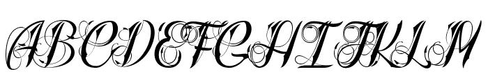 Radical Beat 2 Font UPPERCASE