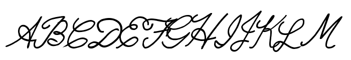 RadicalLlamas Font UPPERCASE