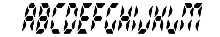 Radioland Slim Font UPPERCASE