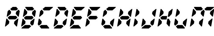 Radioland Font UPPERCASE
