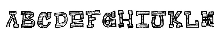 Raditad-Regular Font UPPERCASE