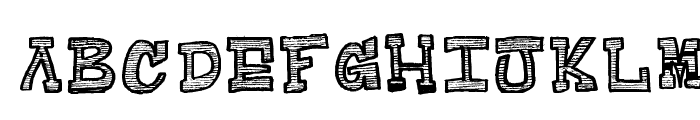 Raditad-Regular Font LOWERCASE
