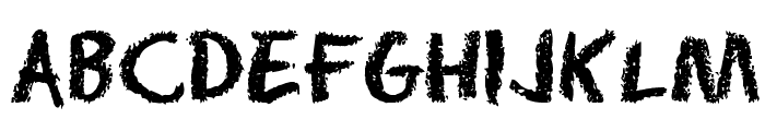 Radium Day-After J Font UPPERCASE