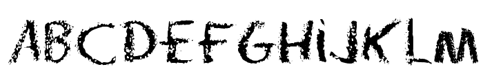 Radium Day-After J Font LOWERCASE
