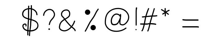 RadiumBold Font OTHER CHARS