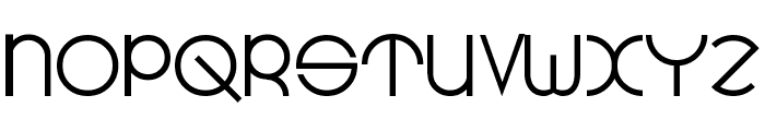 Radius Font UPPERCASE