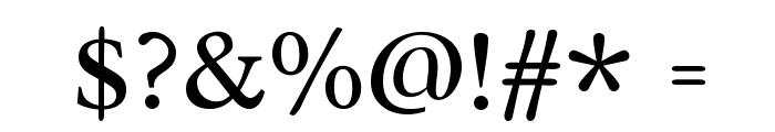 Radley-Regular Font OTHER CHARS