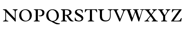 Radley-Regular Font UPPERCASE