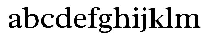 Radley-Regular Font LOWERCASE