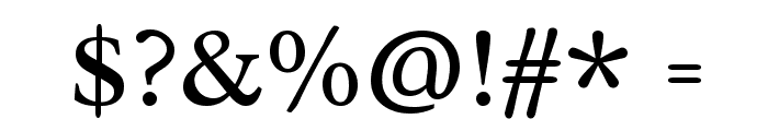 Radley Font OTHER CHARS