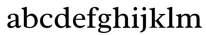 Radley Font LOWERCASE