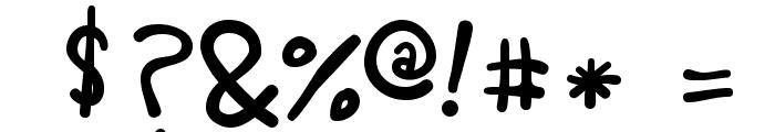 Rafa Px Bold Font OTHER CHARS