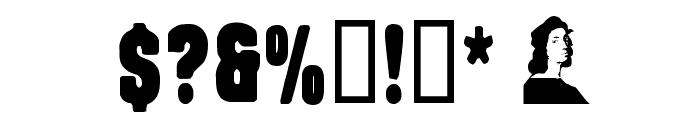 Rafael Regular Font OTHER CHARS