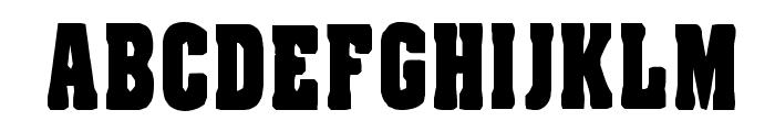 Rafael Regular Font UPPERCASE