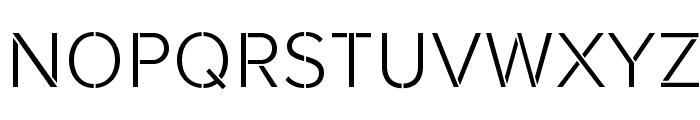 Rafale-BG Font UPPERCASE