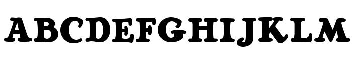 Ragg Mopp NF Font UPPERCASE