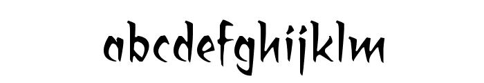 RagingRedLotus BB Font LOWERCASE