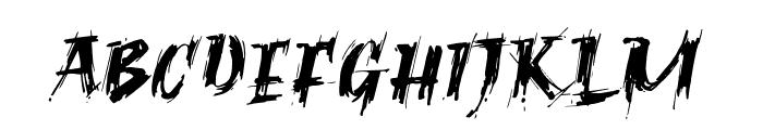 Ragnar Brush DEMO Font UPPERCASE