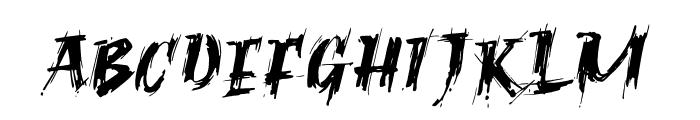 Ragnar Brush DEMO Font LOWERCASE