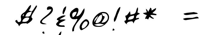 Rai Regular Font OTHER CHARS