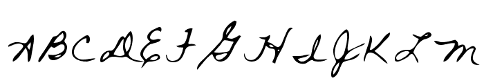 Rai Regular Font UPPERCASE